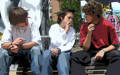 La fumée de tabac est un facteur risque pour l'addiction au cannabis