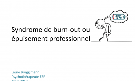 Syndrome de burn-out ou épuisement professionnel