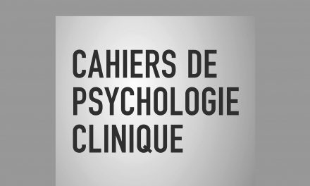 Cahiers de psychologie clinique