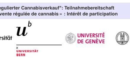 Sondage en ligne destiné à mieux connaître les habitudes de consommation et les motivations des utilisateurs de cannabis