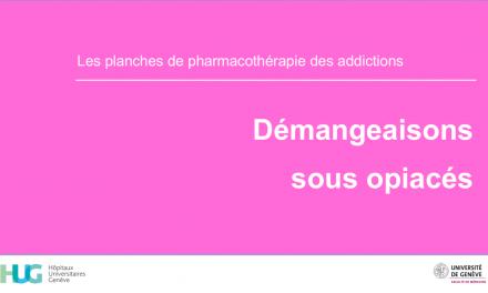 Démangeaisons sous opiacés