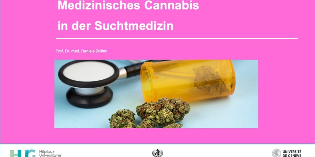Medizinisches Cannabis  in der Suchtmedizin