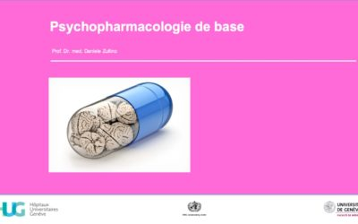Psychopharmacologie de base