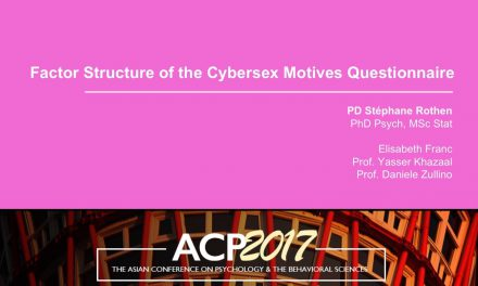 Factor Structure of the Cybersex Motives Questionnaire