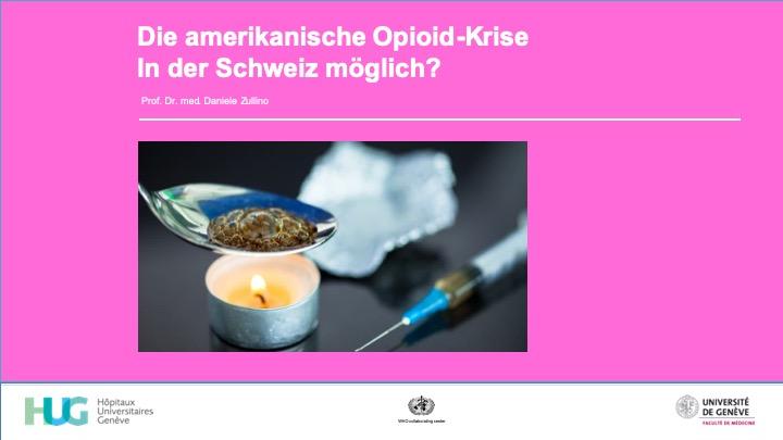 Die amerikanische Opioid-Krise / In der Schweiz möglich?