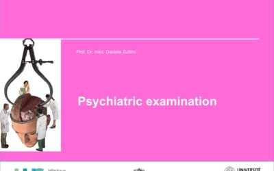 The psychiatric examination