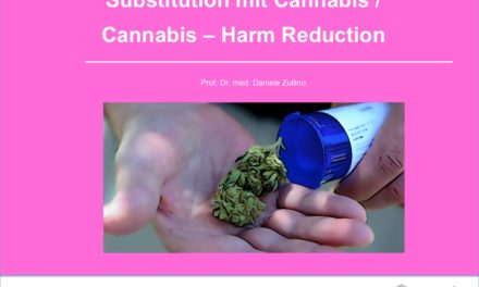 Substitution mit Cannabis /  Cannabis – Harm Reduction