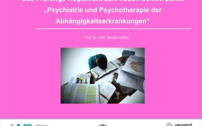 Prüfung Schwerpunkt Psychiatrie und Psychotherapie der Abhängigkeitserkrankungen