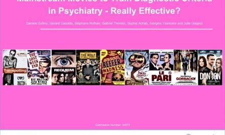 Mainstream Movies to Train Diagnostic Criteria