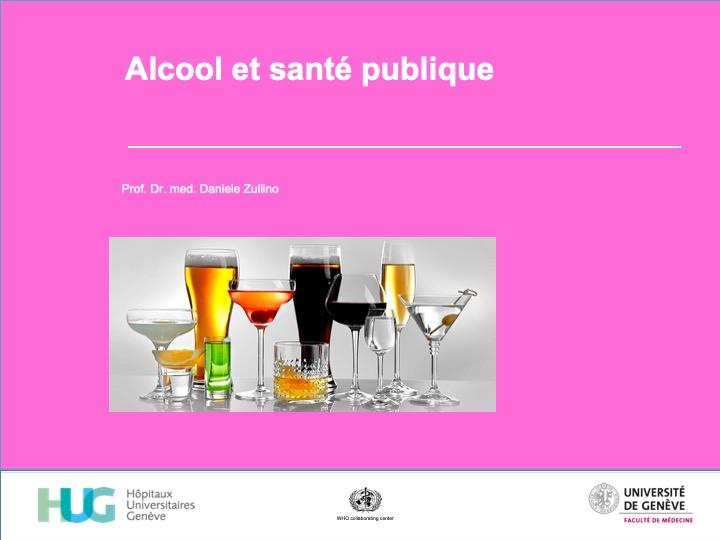 Alcool et santé publique