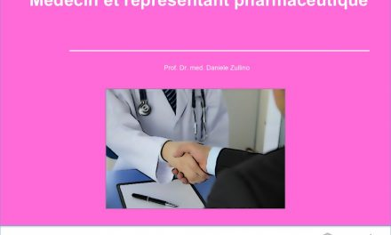 Médecin et représentant pharmaceutique