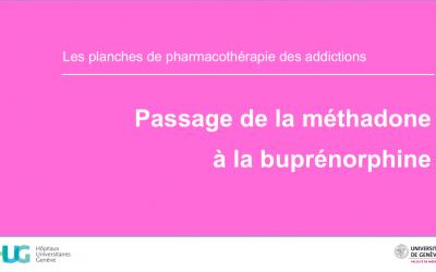 Passage de la méthadone à la buprénorphine