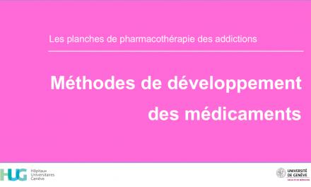 Méthodes de développement des médicaments