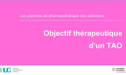 Objectif thérapeutique d'un TAO
