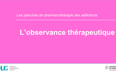 L'observance thérapeutique