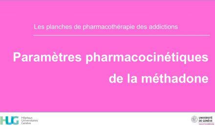 Paramètres pharmacocinétiques de la méthadone