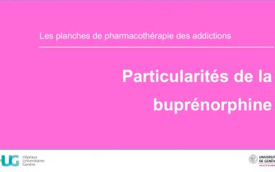 Particularités de la buprénorphine