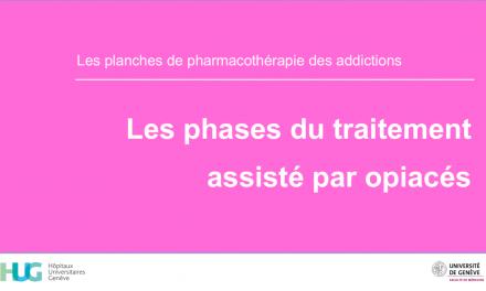 Phases du traitement assisté par opiacés