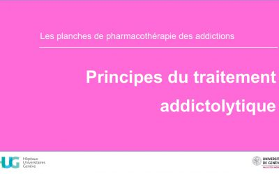 Principes du traitement addictolytique