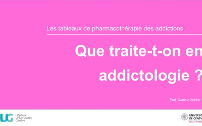 Que traite-t-on en addictologie ?