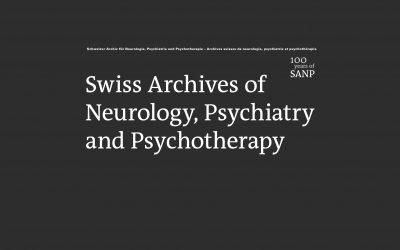 Archives Suisses de Neurologie, Psychiatrie et Psychothérapie