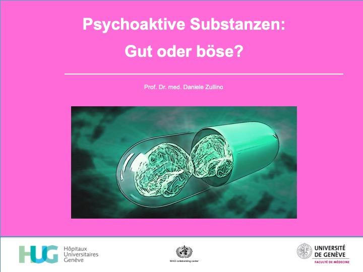 Psychoaktive Substanzen:  Gut oder böse?