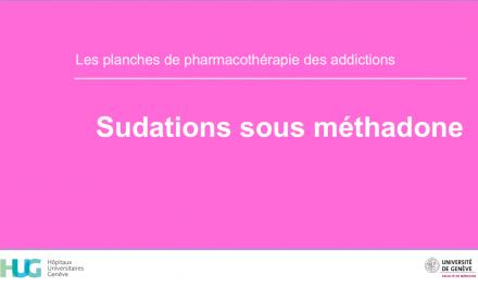 Sudations sous méthadone
