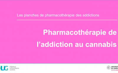 Pharmacothérapie de l'addiction au cannabis