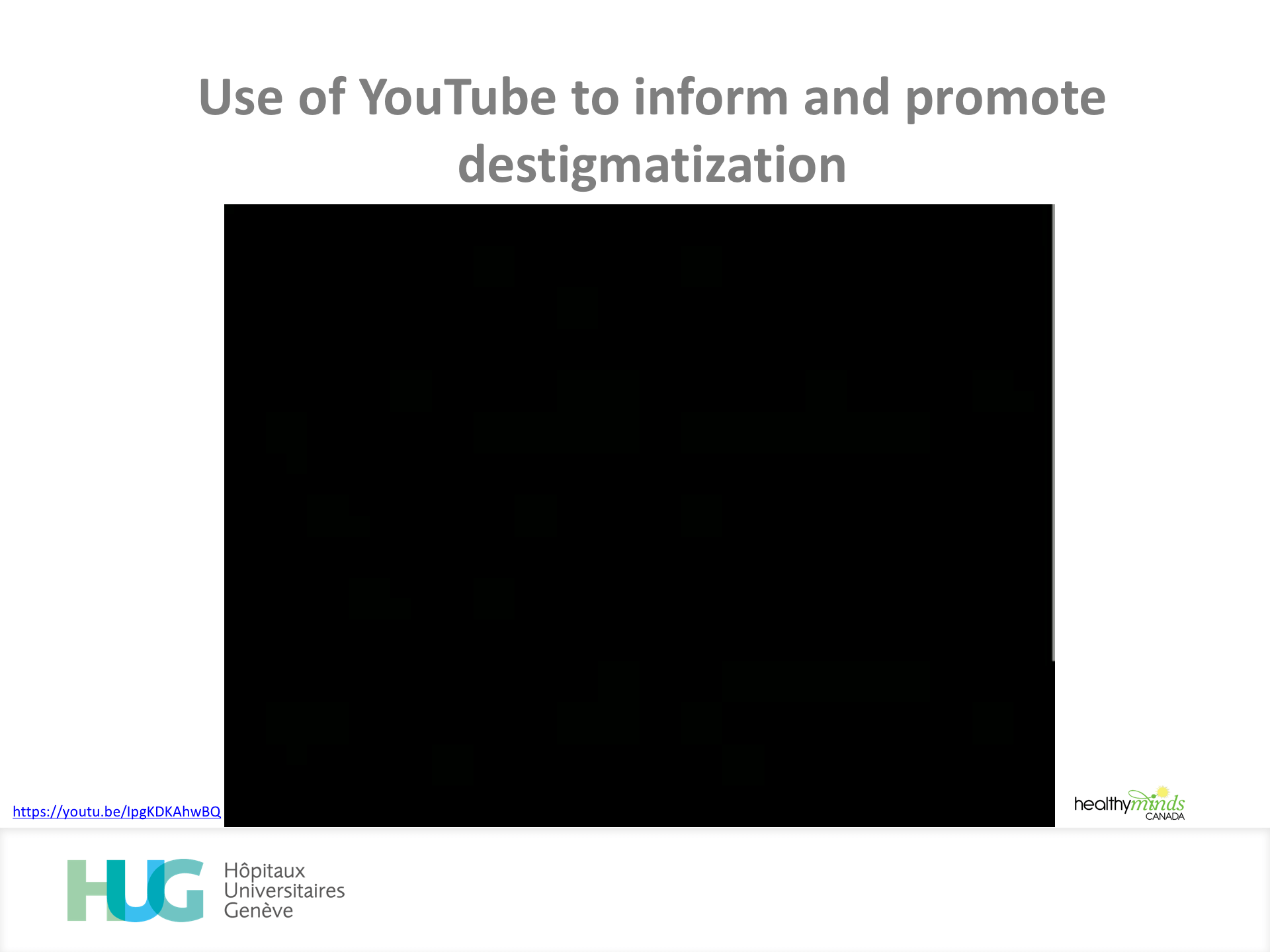 YouTube presence of an addiction medicine service what works Diapositive04