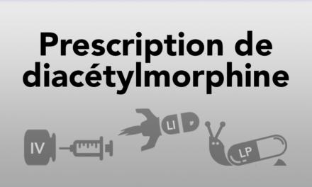 Prescription de la diacétylmorphine