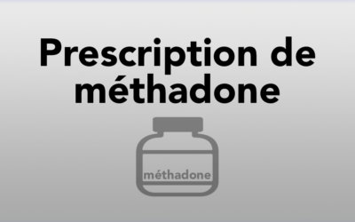 Prescription de méthadone