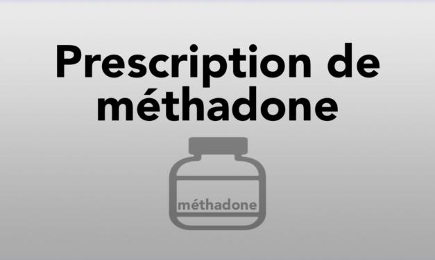 Prescription de méthadone
